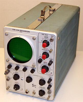 Tektronix 515a Oscilloscope O-scope Parts