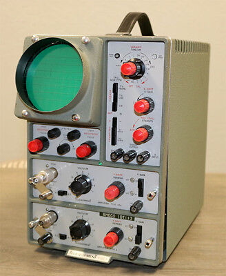 Telequipment Type D43 Oscilloscope Type A And 43a - Guaranteed Working