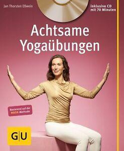 GU Ratgeber: ACHTSAME YOGAÜBUNGEN mit CD ►►►ungelesen ° Yoga ° Thielemann-Kapell