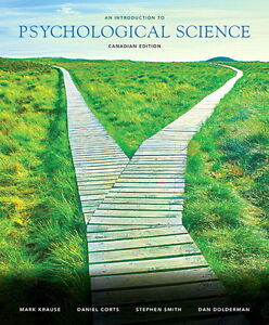 Krause: An Introduction to Psychological Science 1/CE + MyLab