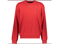 Ralph lauren red knitted sweater