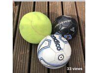 Various size balls