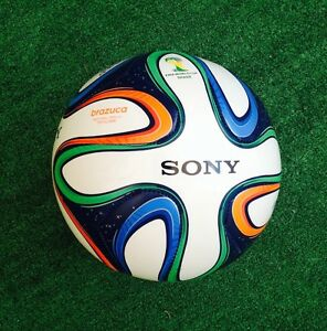 Adidas Brazuca FIFA World Cup Match Ball Replica Top Glider Size 5 SONY