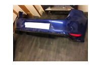 Vw golf mk7 r rear bumper lapiz blue