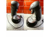 2x Philips Senseo Coffee Machine Pod Machine 2 Cups
