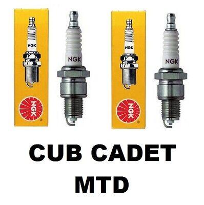 2 NGK Spark Plug For Ariens Mtd Cub Cadet OCC-7511029 Replaces STENS  F6RTC (Spark Plug For Cub Cadet Lawn Mower)