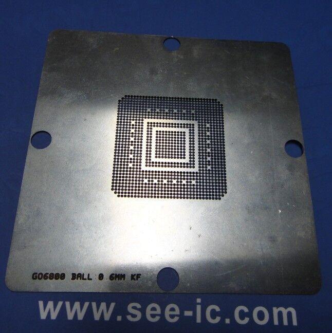 1* SR0DB N550 SLBXF N455 SLBX9 N475 SLBX5 N450 SLBMG E52168 BGA Stencil Template