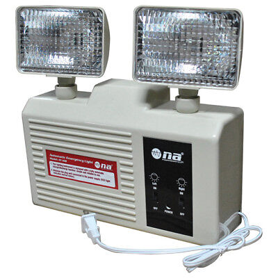 New Emergency Stairwell Light Rechargeable Battery Backup At108
