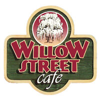 Willow Street Cafe is hiring! Front of house and cooks!