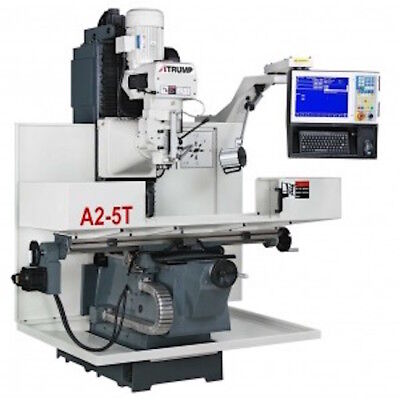 Atrump A2-5t Cnc Bed Mill Milling Machine With Centroid Cnc Control
