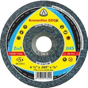 Klingspor 317818 4-1/2″ Flat Center Cutt-Off Wheels 25 Pack