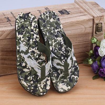 Men Summer Camouflage Flip Flops Shoes Beach Sandals Slipper indoor & outdoor  5