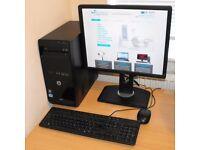 Core i5 Complete Windows 10 PC HP Compaq Pro 3400 Series SFF