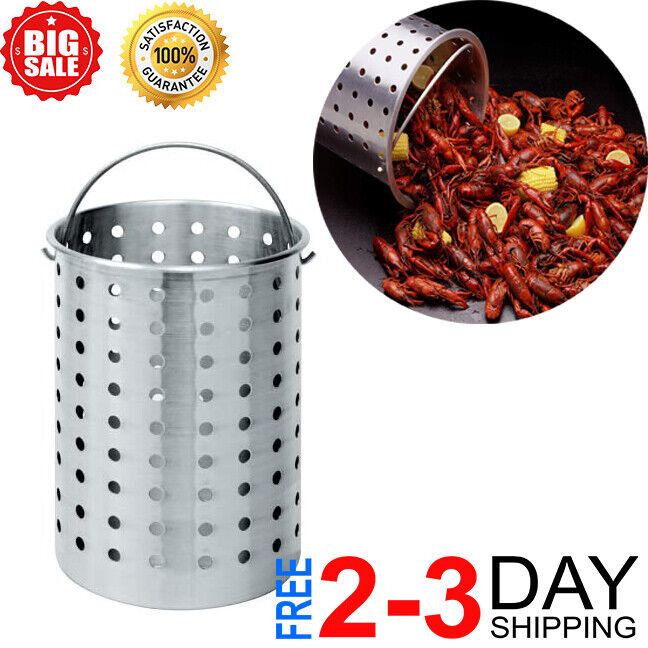 B300 Perforated Steam, Boil, Fry Accessory Basket. Fits 30-Q