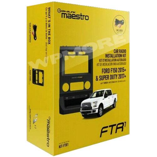 IDatalink Maestro Dash KIT FTR1 for Ford F150 2015 & UP + SUPER DUTY 2017 & UP