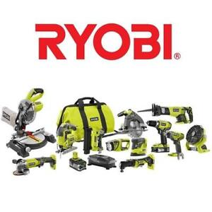 NEW* 8PC RYOBI POWER TOOL KIT P1894 196397508 18V LITHIUM ION CORDLESS COMBO KIT