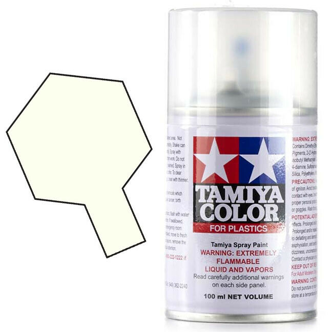 Tamiya TS-13 Gloss Clear Spray Paint Can Lacquer Plastic 3oz (100ml)