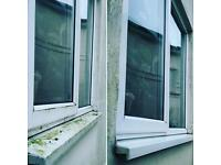 Traditional and Pure water window cleaning