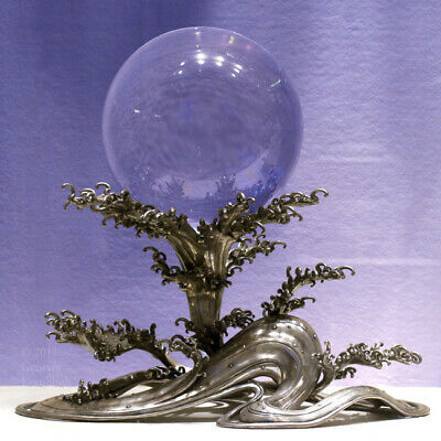 Crystal Ball Halloween Decoration (eyes of a mystic Oracle ball quartz mineral natural clear witch Halloween)
