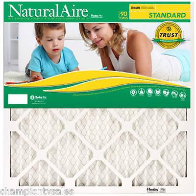 "BOX OF 12 - 16"" x 25"" x 1 Flanders MERV 8 NaturalAire Furnace Filter 580066 x12"