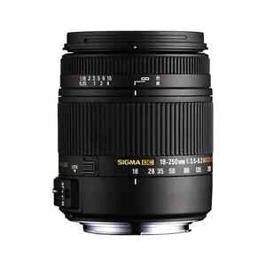 Sigma 18-250mm for Canon