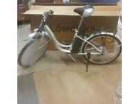 New boxed Lowebike Power Plus Electric Push Bike with Pedal Assist or Full Power Mode