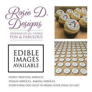 Edible Images Printing & Design Available . Icing Sheets