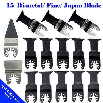 15 Metalwood Saw Blade Oscillating Multi Tool Rockwell Worx Hyperlock Ryobi