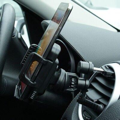 Plus Phone Cradle - Car Dash Vent Clip Mount Holder for Apple iPhone 6 Plus Smart Cell Phone Cradle