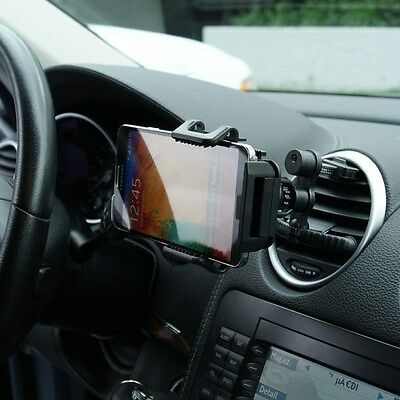 360  Adjustable Car Air Vent Mount Holder Cradle For Samsung Galaxy Note 5   4