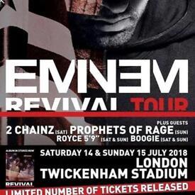 2 x Saturday tickets - Twickenham