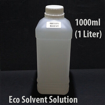 Eco Solvent Cleaning Solution 1000 Ml 1 Liter For Mimaki Roland Epson Ink Line L
