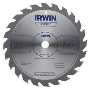 Irwin 25130 Circular Saw Blade 24T 7-1/4 25PACK NEW