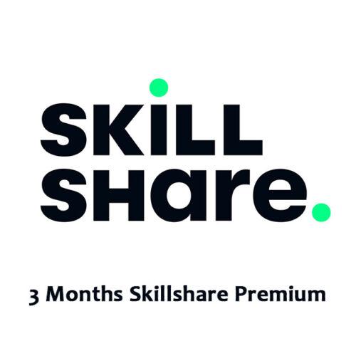 Skillshare 3 Months Premium Subscription | Private