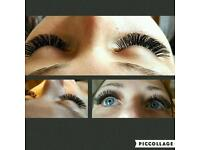 Eyelash extensions in Rainham and Laytostone (classic and russian volume)
