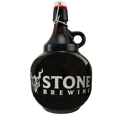 Stone Brewing Company Swing Top 2 Liter Beer Growler - Draft Beer Glassware