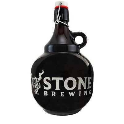 Stone Brewing Company Swing Top 2 Liter Beer Growler - Draft Beer Glassware
