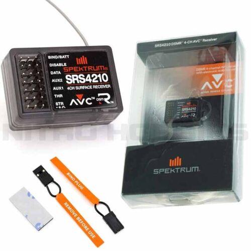 Spektrum SRS4210 DSMR 4 Channel AVC Surface Receiver : DX2E / DX4C / DX4S / DX4R