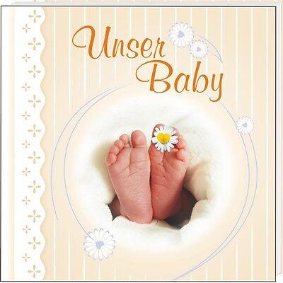 Babyalbum*Unser Baby*Fotobuch*Babybuch*mit Namen des Kindes