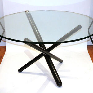 """51"""" Round Glass Table"""