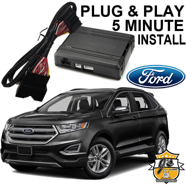 Ford Edge Remote Start Plug And Play Easy Install Suv X Lock Start