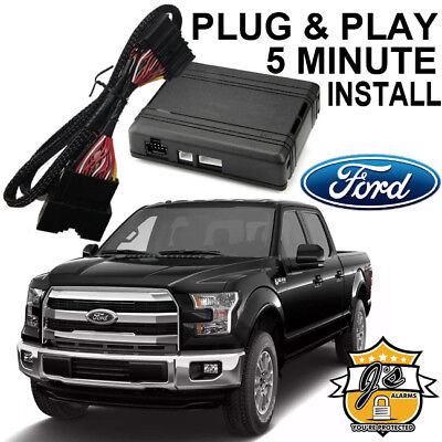 2015-2018 Ford F-150 Remote Start Plug and Play Easy Install Truck F150 3X Lock