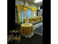 Decoration Service/Venue Styling -WEDDING PLANNER ORGANISER/CO-ORDINATOR/WEDDING LOVE SOFA HIRE/