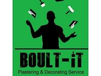Plastering & Decorating Service