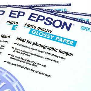 EPSON Photo-Quality Gloss Inkjet Paper