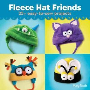 Mary Rasch-Fleece Hat Friends BOOK NEU