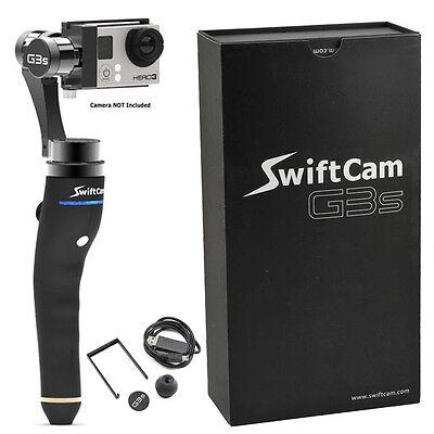 SwiftCam G3S 3-Axis Handheld Gimbal for GoPro Hero 3, 3+ Hero 4 Camera