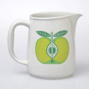 Arabia Finland Green Apple Pitcher
