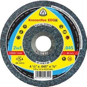 Klingspor 317821 5″ Depressed Center Kronenflex Thin Cut-Off