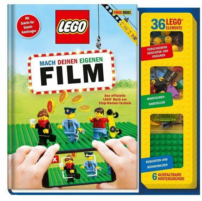 LEGO® Mach deinen eigenen Film: Das offizielle LEGO® Buch zur Stop-Motion-Techni
